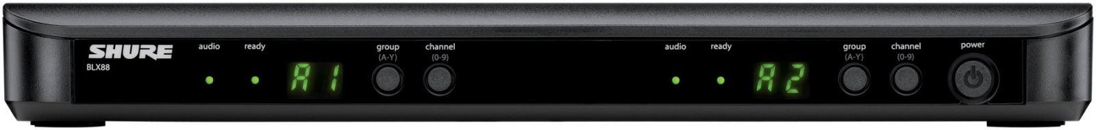 Bộ thu và phát kèm micro không dây Shure BLX288A/BETA58A