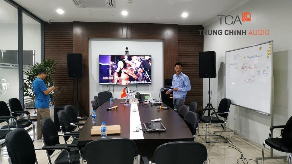 karaoke phòng họp công ty phúc long