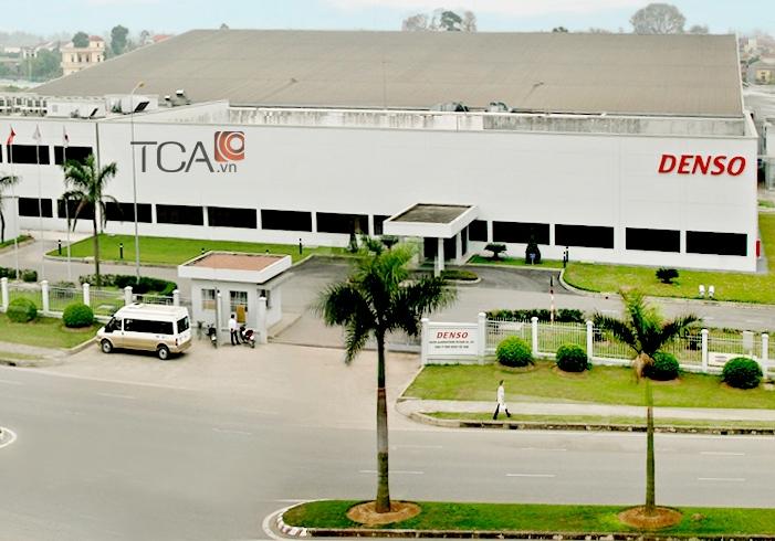Lắp đặt hệ thống âm thanh thông báo cho nhà máy Denso Việt Nam